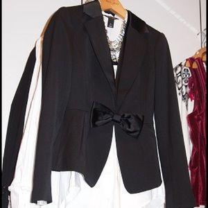 WHBM Tuxedo Blazer